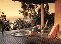 Super Luxo Bungalow do Ponta dos Ganchos Exclusive Resort, em Governador Celso Ramos - Santa Catarina. #Travel #BoutiqueHotel #Brazil #Charm