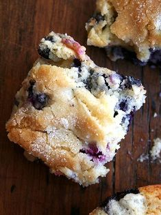Buttermilk Blueberry Breakfast Cake Recipe... don't mess with the recipe LOL, sacred!