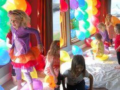 Meaningful Mama: Day #85 Rainbow Birthday Party