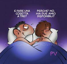 Fantasia erotica di lui… e di lei… Italian Humor, Sarcastic Quotes, Funny Pictures, Lol, In This Moment, Smile, Comics, Memes, Nail