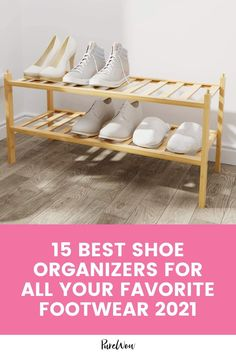 Here are 15 of the best of the best shoe organizers money can buy. Shoe Organizer, Desk Organization, Organizers, City Chic, Getting Organized, Thrifting, Sweet Home, Footwear, Money