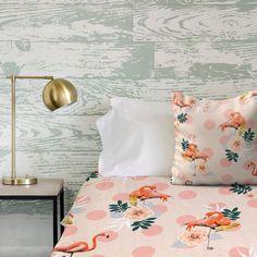 'Flamingo Jazz' Duvet Covers & Comforters @society6 #society6 #decor #home