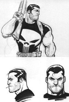 Punisher Classic by Ariel Olivetti