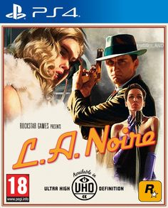 L.A. Noire Remaster Price and Box Art Revealed