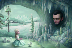 Mark Ryden (born January 20, 1963) is an American painter, part of the Lowbrow (or Pop Surrealist) art movement. Description from pixgood.com. I searched for this on bing.com/images