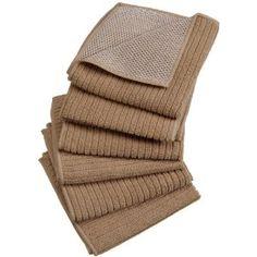 DII Home Essentials Microfiber Microfiber Scrubber Cloth, Set of 6