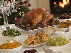 Christmas dinner with all the trimmings, © Monkey Business Images | http://Dreamstime.com