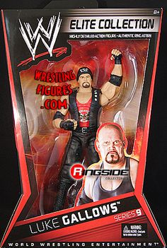 RINGSIDE COLLECTIBLES WWE Toys, Wrestling Action Figures, Jakks Pacific, Classic Superstars Action F: LUKE GALLOWSELITE 9WWE Toy Wrestling Action Figure Wrestling Superstars, Wrestling Wwe, Figuras Wwe, Wwe Game, Eddie Guerrero, Paige Wwe, Wwe Toys, Wwe Action Figures, Wwe Elite