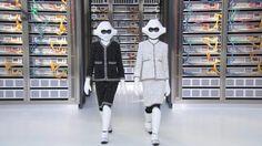 Chanel robotok a kifutón
