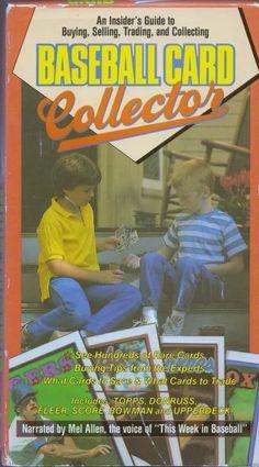 Baseball Card Collector VHS Mel Allen Topps Fleer Score Hobby