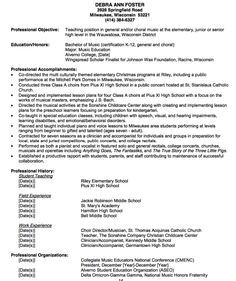 Example Teacher Resume Example Of Mathematics Teacher Resume  Httpexampleresumecv