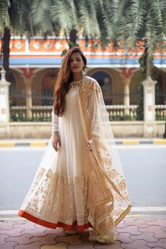 By far the most Indian ensemble around, the anarkali is the most loved Indian outfit by women. We are sharing with you some very pretty Anarkali outfits that we saw last year. Preeti Pooja Preeti Pooja is the official writer at LookVine. Designer Anarkali, Pakistani Outfits, Indian Outfits, Farewell Dresses, Pakistan Fashion, Indian Fashion, Women's Fashion, Fashion Styles, Lehenga