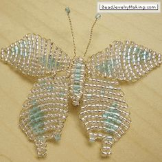 How To Make Butterfly Jewelry Tutorials - The Beading Gem's Journal