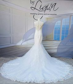 "Based in Kempton Park, Johannesburg, By Ligita is a Bridal Couture Boutique with several ranges of Wedding Gowns and Dresses including ""Aurora"" from Nicole Spose. Bridal Dresses, Wedding Gowns, Dress Attire, Couture, Boutique, Life, Accessories, Design, Fashion"