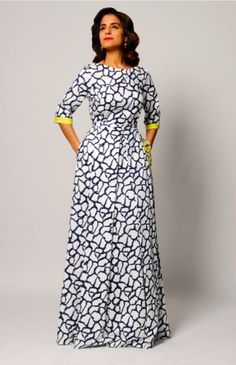 Top 10 cute Long High Waist Ankara styles and unique styles Diyanu - Aso Ebi Styles African Dresses For Women, African Print Dresses, African Print Fashion, African Attire, African Wear, African Fashion Dresses, African Women, African Prints, Ankara Fashion