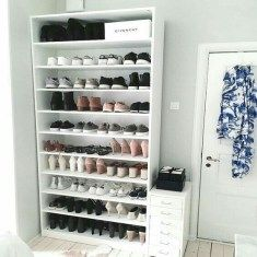 15 Shoes Storage Ideas Youll Love 15 Shoes Storage Ideas Youll Love The post 15 Shoes Storage Ideas Youll Love appeared first on Kleiderschrank ideen. organization bookshelf 15 Shoes Storage Ideas You'll Love - Kleiderschrank ideen Room Ideas Bedroom, Closet Bedroom, Diy Bedroom, Bedroom Inspo, Bed Room, Shoe Storage Solutions, Beauty Storage Ideas, Cute Room Decor, Closet Designs