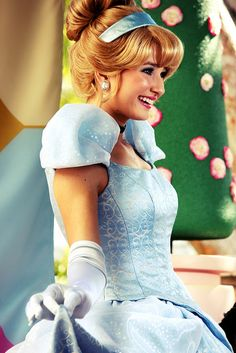 Cinderella :) I am kind of disappointed that her look was changed :(