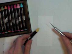 Encaustic Fun With Watercolor Wonder Crayons