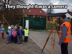 They Thought It Was A Camera cute kids adorable funny pictures aww funny kids funny humor Funny Pictures For Kids, Funny Kids, Fail Pictures, Construction Humor, Construction Worker, New Memes, Funny Quotes About Life, Work Humor, Life Humor