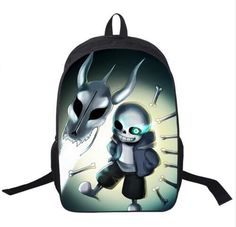 00cc7a8bd292 Undertale Backpack Sans And Papyrus School Backpacks Boys Girls Bag  Children School Bags Undertale Schoolbags Kids Gift Bag