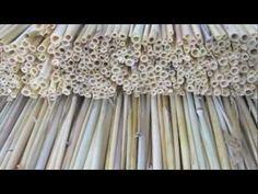 Straw Hive Making - YouTube