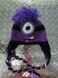 Pink zombie creations 10$ evil minion hat
