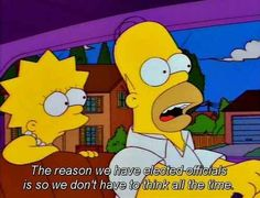 When he explained democracy. | 24 Times Homer Simpson Was Right