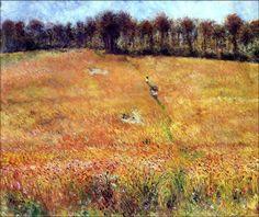 bofransson:    Path through the High Grass, 1876Pierre-Auguste Renoir