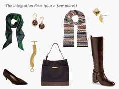The Vivienne Files: A Four by Four Wardrobe in Navy, Brown, Green and Beige