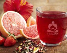Strawberry Grapefruit Xue Long Green Tea