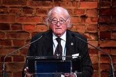 """Auschwitz survivor Roman Kent called for an 11th commandment: """"You should never be a bystander"""" – To listen to the 17 minute speech from Roman Kent, chairman of the """"American Gathering of Jewish Holocaust Survivors and Their Descendants"""" on 2015 Holocaust Remembrance Day at Auschwitz, click http://audioboom.com/boos/2833936-auschwitz-survivor-roman-kent-called-for-an-11th-commandment-you-should-never-be-a-bystander"""