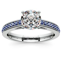 Cathedral Sapphire Gemstone Engagement Ring in Platinum https://www.brilliance.com/engagement-rings/cathedral-sapphire-gemstone-ring-platinum