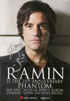 Fantom Of The Opera, Ramin Karimloo, Music Theater, Think Of Me, Debut Album, Plays, Musicals, Broadway, Mystery