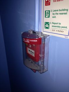 Take 30 secs when you arrive at your party venue to see where the fire exits and alarms are #firesafety