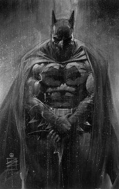 Batman. Perfection in shadowing
