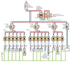 Ac Wiring, Electrical Layout, Electrical Plan, House Wiring, Electrical Wiring Diagram, Electrical Projects, Electrical Installation, Electrical Engineering, Power Supply Design