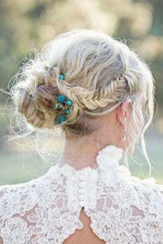 Beautiful messy updo