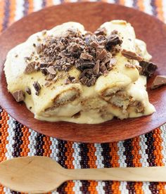 Our Amarula Cream liqueur is accustomed to adding goodness to many desserts, but where it finds complete harmony is when it is soaked up by the base of this tiramisu.