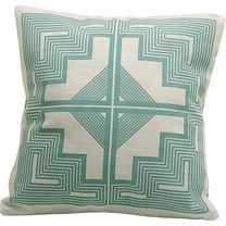 Navajo quite pillow from a talented textile designer