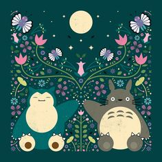 Carly Watts Art & Illustration: Forest Friends