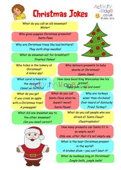 Looking for Christmas Tree Decorating Ideas? Christmas jokes printable for advent calendar Christmas Jokes For Kids, Xmas Jokes, Christmas Puppy, Family Christmas, Christmas Humor, Winter Christmas, Christmas Ideas, Christmas Crafts, Christmas Plays