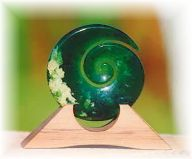"""JADE - This is the """"Crystal of Tranquillity"""". Jade soothes the emotions and helps keep the peace for community relations."""