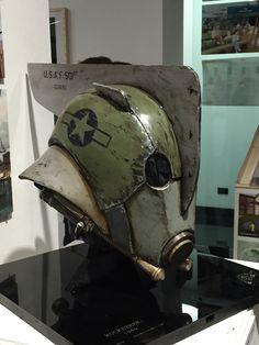 Ryan Phair Art: World War 2 Rocketeer Helmet Armor Concept, Concept Art, Character Concept, Character Art, Apocalypse, Sci Fi Armor, Cool Masks, Cyberpunk Art, Sci Fi Characters