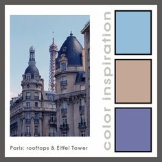 Paris rooftops: color mixing inspiration from my travels   #polymer #colormixing #color #christifriesen