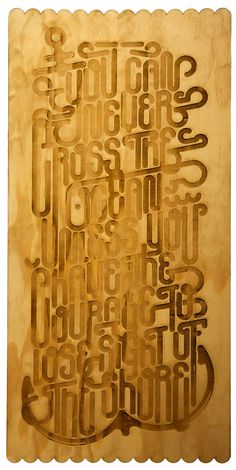 """Back in 5 Minutes"" Typography Exhibition by Clement  de Bruin, via Behance"