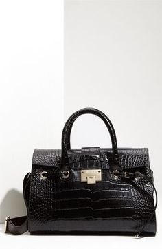 Jimmy Choo 'Rosalie' Leather Satchel | Nordstrom - StyleSays