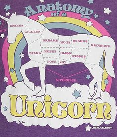 Local Celebrity Anatomy Of A Unicorn T-Shirt