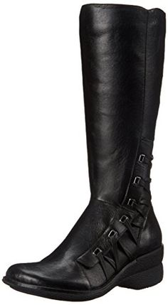 Miz Mooz Women's Orson Extended Calf Boot, Black, 36 EU/6 M US