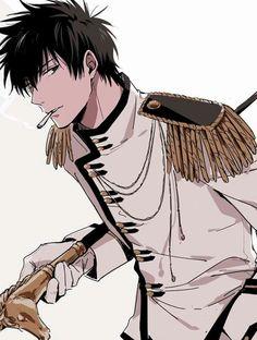 art by Feiqiuxuan Boys Anime, Hot Anime Guys, Cute Anime Boy, Manga Boy, Anime Love, Anime Manga, Anime Art, Gaara, Anime Style
