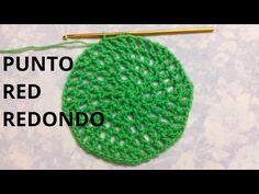Tejido en redondo o Trabajo en círculo en crochet. Cómo tejer círculo a ganchillo. - YouTube